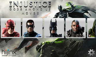 Screenshot of Injustice Moves