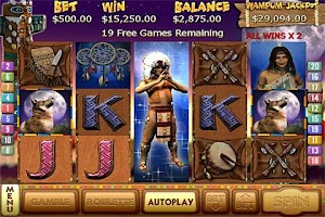 Screenshot of Totem Treasure 2 Slots