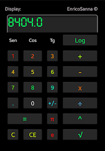 Colored Calculator - screenshot