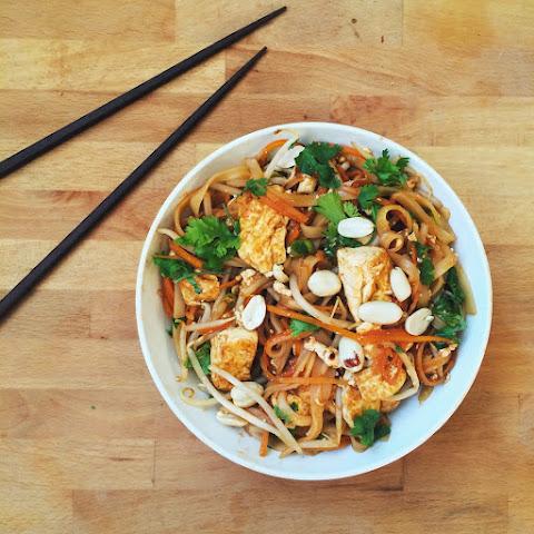 ... stroganoff on zucchini ribbons lean tofu pad thai lean tofu pad thai