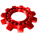 Basic Red for CM7 icon