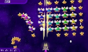 Screenshot of Chicken Invaders 4