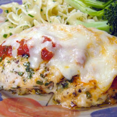 Easy Baked Chicken Parmesan (No Breading)
