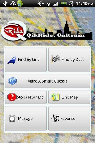 QikRide: Caltrain CA