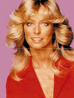 Special seventies hairstyles, Farrah Fawcett