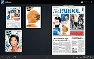 Screenshot of Het Parool