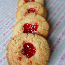Easy Jam Biscuits