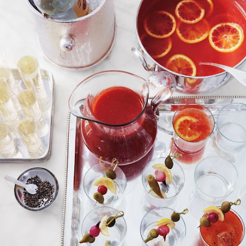 Mulled Blood-Orange Punch