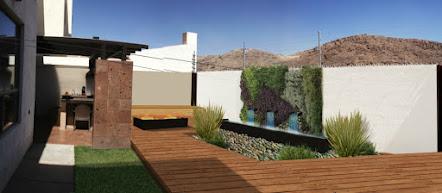 Mucho verde techos verdes terrazas y jardines - Fuente terraza ...