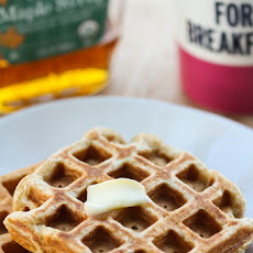 Whole Wheat Banana Waffles