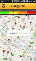 Screenshot of Real-time Radiation in East As
