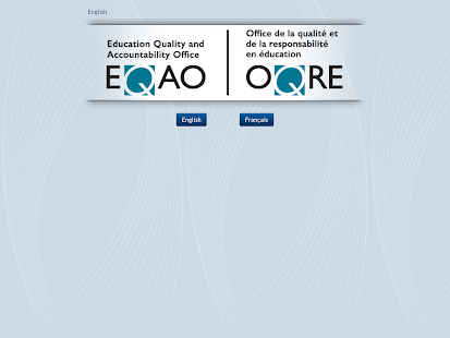 EQAO Online - screenshot