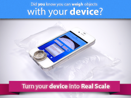 Screenshot of Digital Scale real scale app