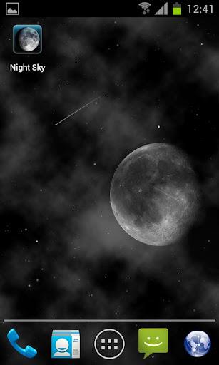 Night Sky LITE Live Wallpaper