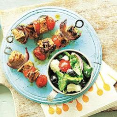 Oregano And Orange Pork Skewers