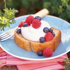 Spiced Cornmeal Pound Cake