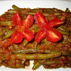 Curried String / Green Beans