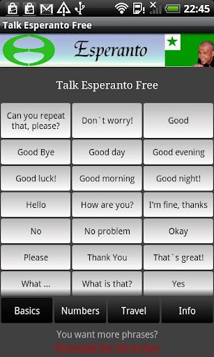Talk Esperanto Free