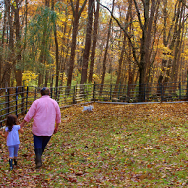 by Deborah Arin - People Family ( nature, colorful, color, fall )