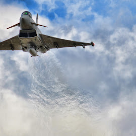 Eurofighter. by Mark Bond - Transportation Airplanes ( eurofighter, plane, jet )