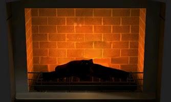 Screenshot of 3D Fireplace