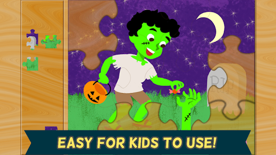 Halloween Games: Kids Puzzle 2 - screenshot