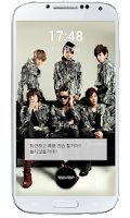 Screenshot of TEEN TOP NIEL Lockscreen