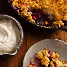 Sour Cherry Crumble