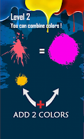 Screenshot of The creative color quiz game