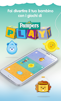 Screenshot of Pampers app