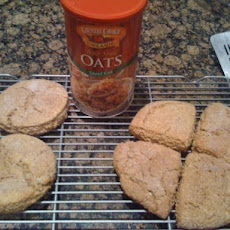 Scottish Buttermilk Steel Cut Oat Scones