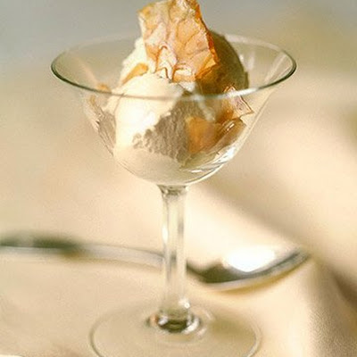 Almond Brittle Sundae