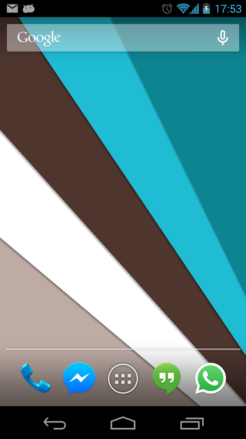 Material Design Live Wallpaper Screenshot 0