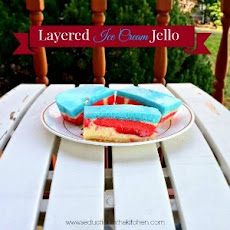 Layered Ice Cream Jello