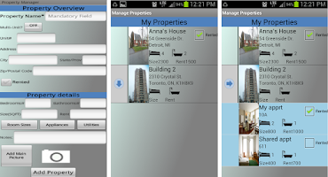 Screenshot of Rental Property Manager
