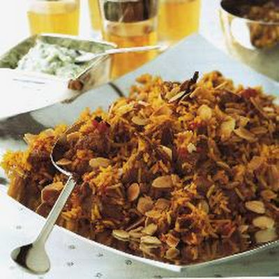 Turkey Biryani With Raita