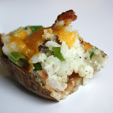 Game-Day Twice Baked Potatoes