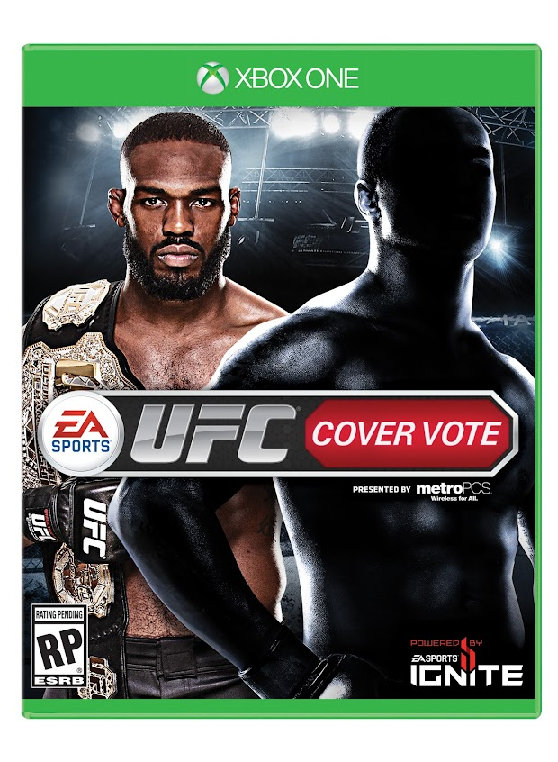 Jon Jones becomes the first cover star for EA Sports UFC, second to be voted in by the fans