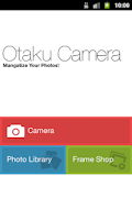 Screenshot of Otaku Camera