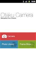 Screenshot of Otaku Camera