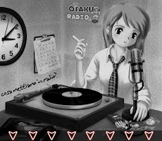 Screenshot of Otaku Radio
