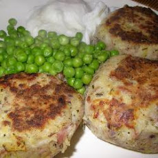 Rice And Ham Rissoles