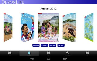 Screenshot of Devon Life