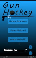 Screenshot of Gun Hockey