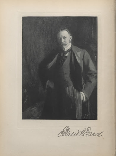 A financier and railroad man, Bacon was not well known as an art collector, though he possessed more than two hundred works, which hung from every inch of his New York apartment. Many of these objects were acquired from art collector T.J. Blakeslee.
