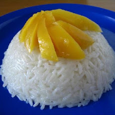Thai Coconut-Mango Sticky Rice