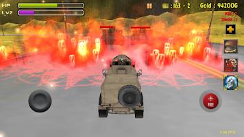 Screenshot of Tank Battle-Desert War