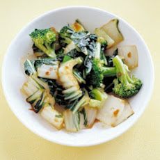 Bok Choy with Broccoli