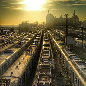 by Yeşim Demirli - Transportation Trains