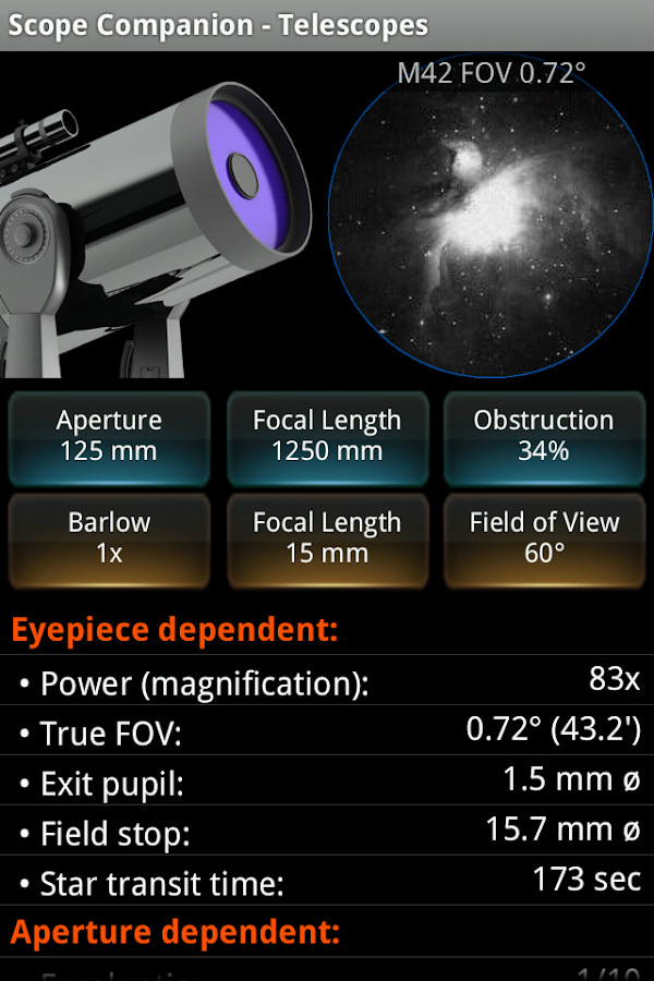 Scope Companion Screenshot 0